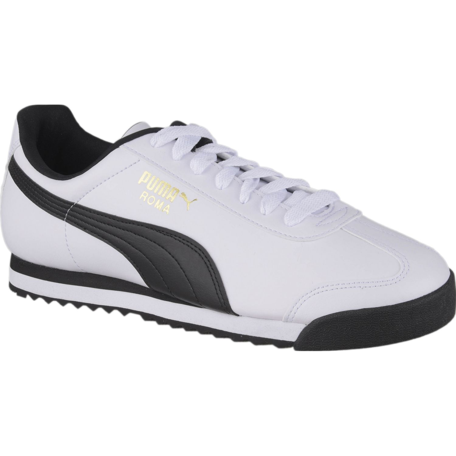 Puma ROMA BASIC Blanco / negro Walking | platanitos.com
