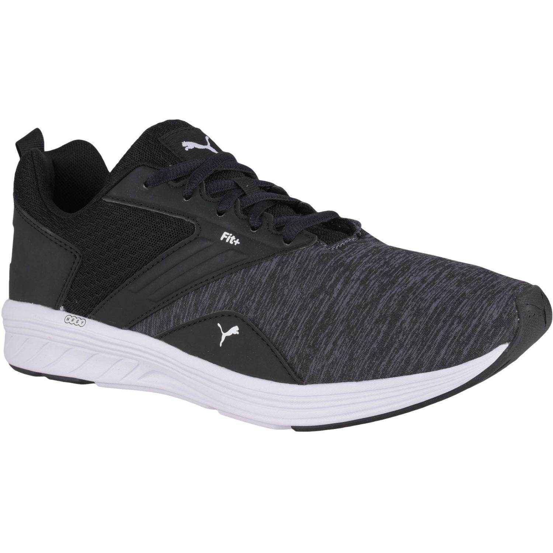 Puma COMET Negro / blanco Trail Running | platanitos.com