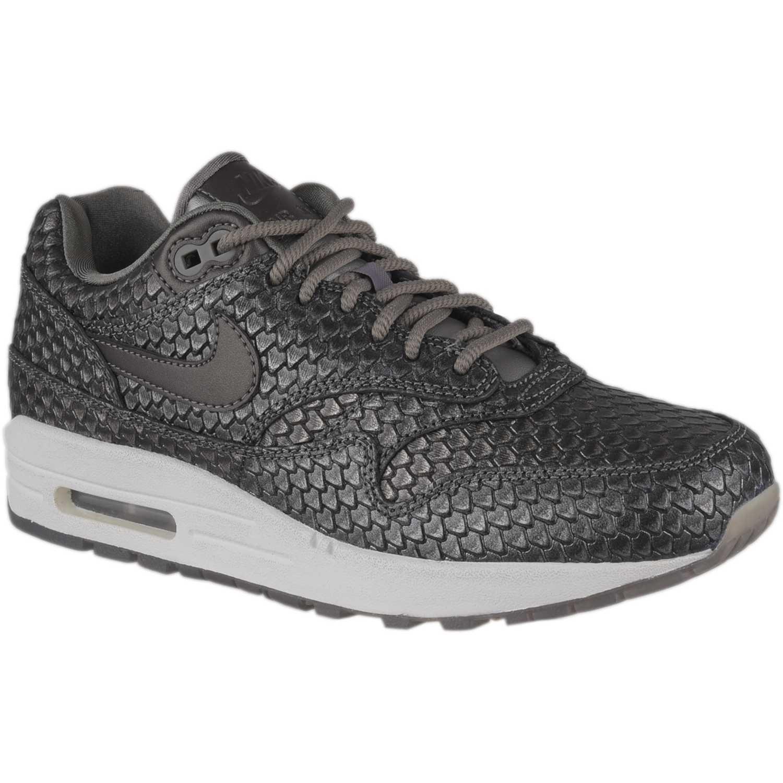 Nike w air max 1 prm Gris / blanco Walking