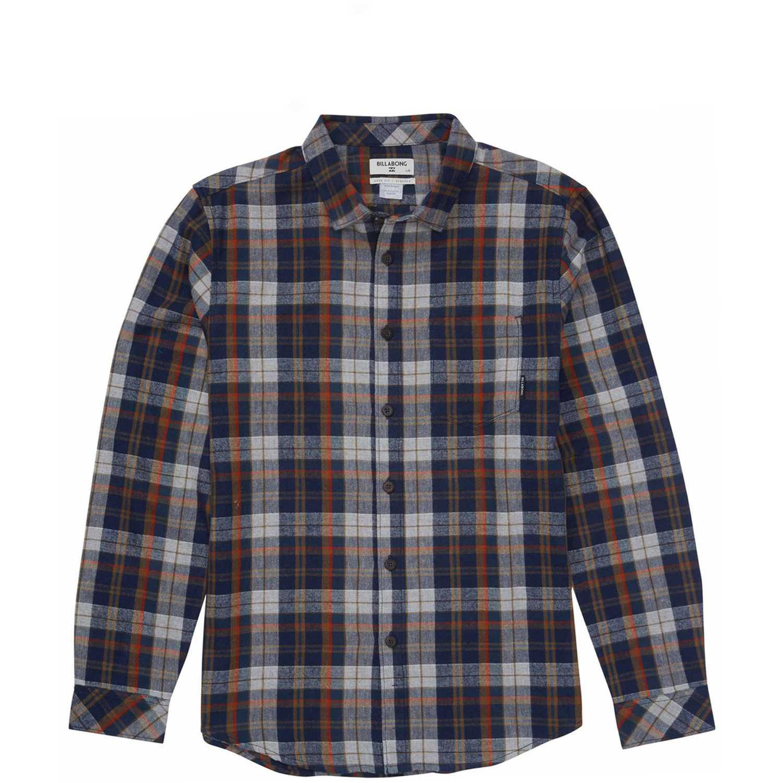 Camisa de Hombre Billabong Navy coastline flannel