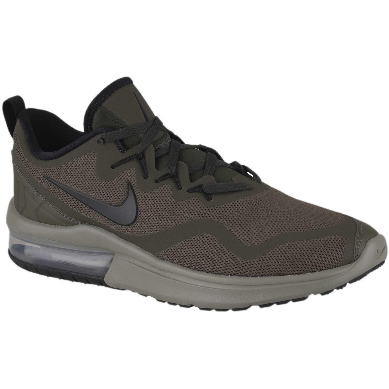 Nike nk air max fury Olivo Running en pista