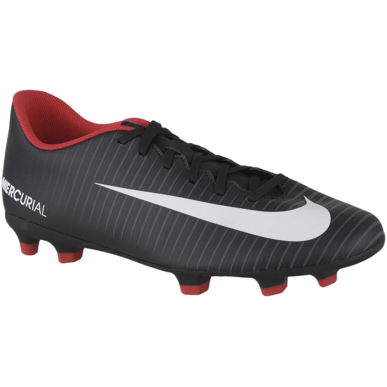 duradero en uso colores armoniosos último descuento Nike mercurial vortex iii fg Negro / rojo Hombres | platanitos.com