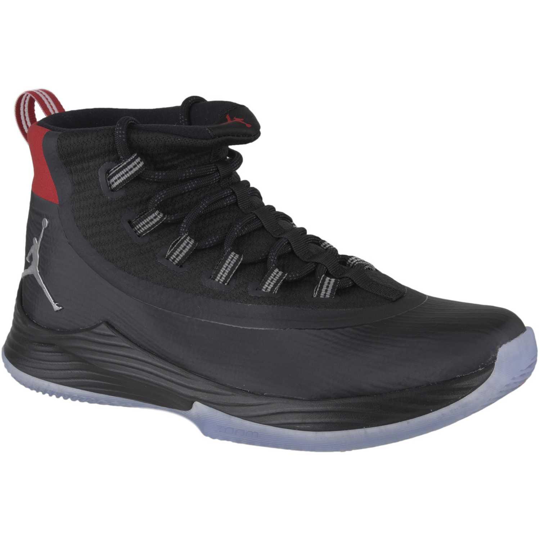 Basquet de Hombre Nike Negro / rojo jordan ultra fly 2