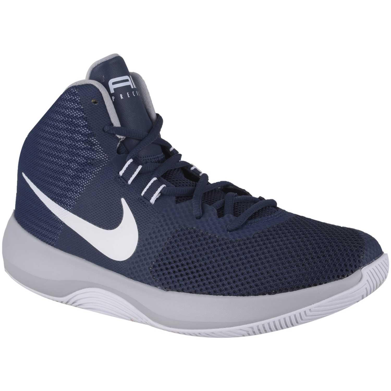 Basquet de Hombre Nike Azul / blanco nk air precision
