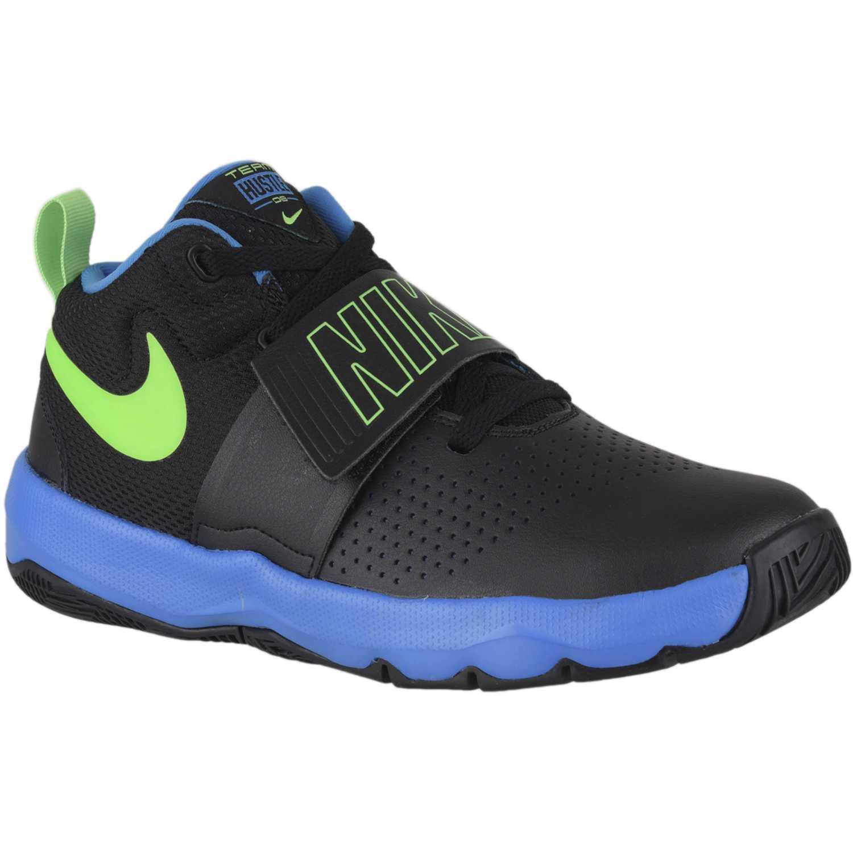 Nike team hustle d 8 bg Negro / celeste Fitness y Cross-Training