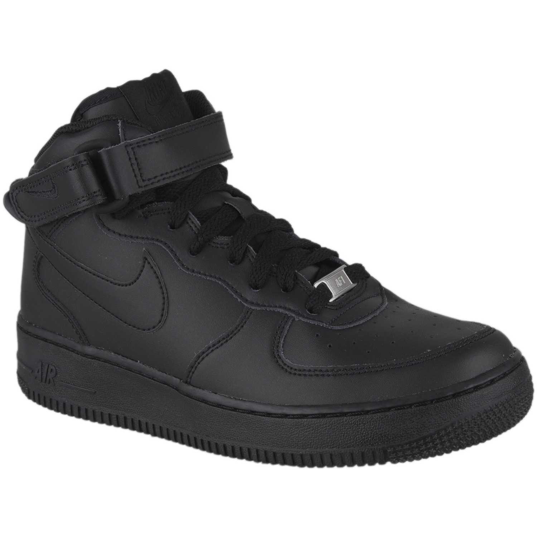 Nike nk air force 1 mid bg Negro Fitness y Cross-Training