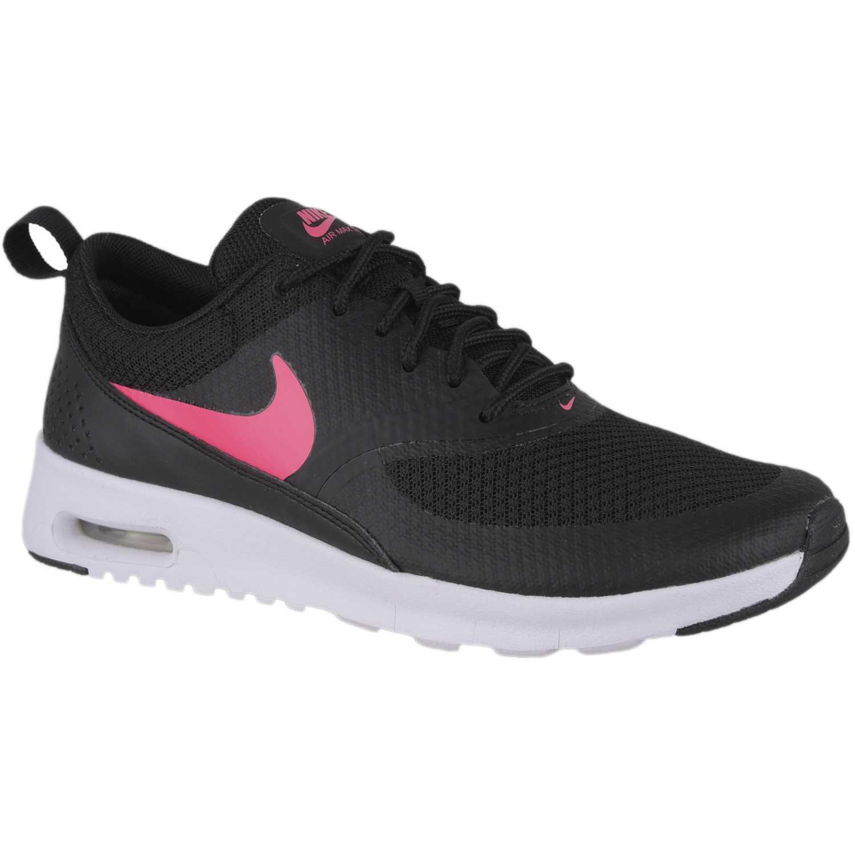 Zapatillas de Jovencita Nike Negro fucsia nk air max thea