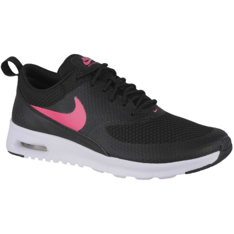 Nike nk air max thea gg Negro / fucsia Fitness y Cross-Training