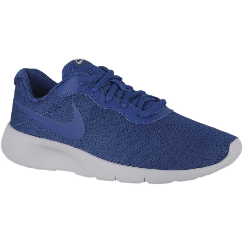 Nike nk tanjun bg Azulino / blanco Fitness y Cross-Training