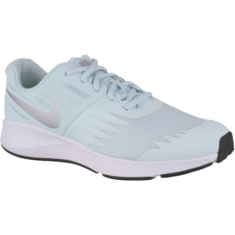 Deportivo de Jovencito Nike Celeste / blanco nk star runner gg