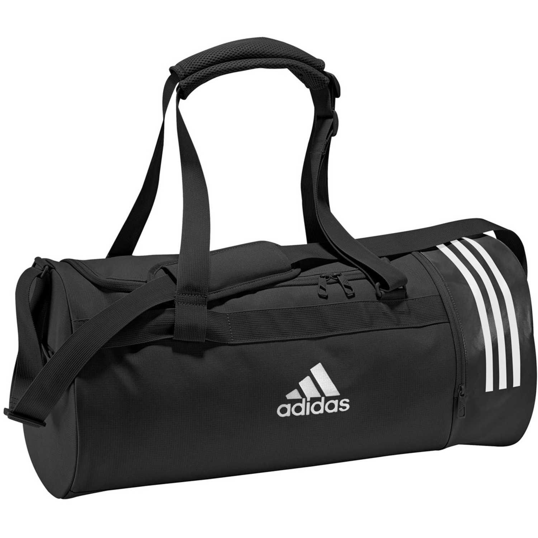 Adidas cvrt 3s duf m Negro / blanco Bolsos de gimnasio