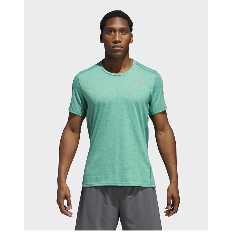 Adidas rs soft tee m Verde Camisetas y Polos Deportivos