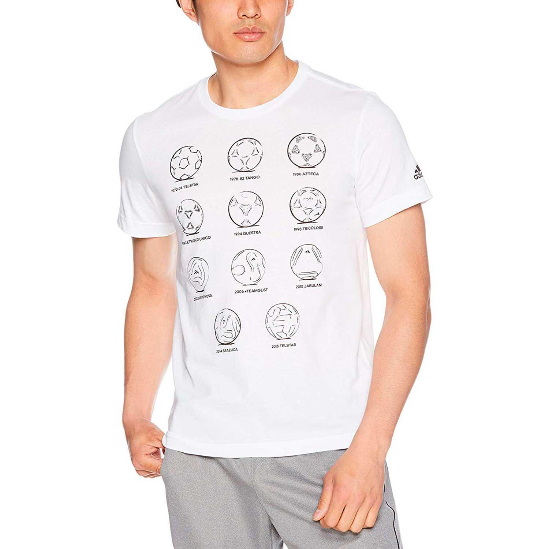 Adidas rd 2 rus ftball Blanco Camisetas y Polos Deportivos