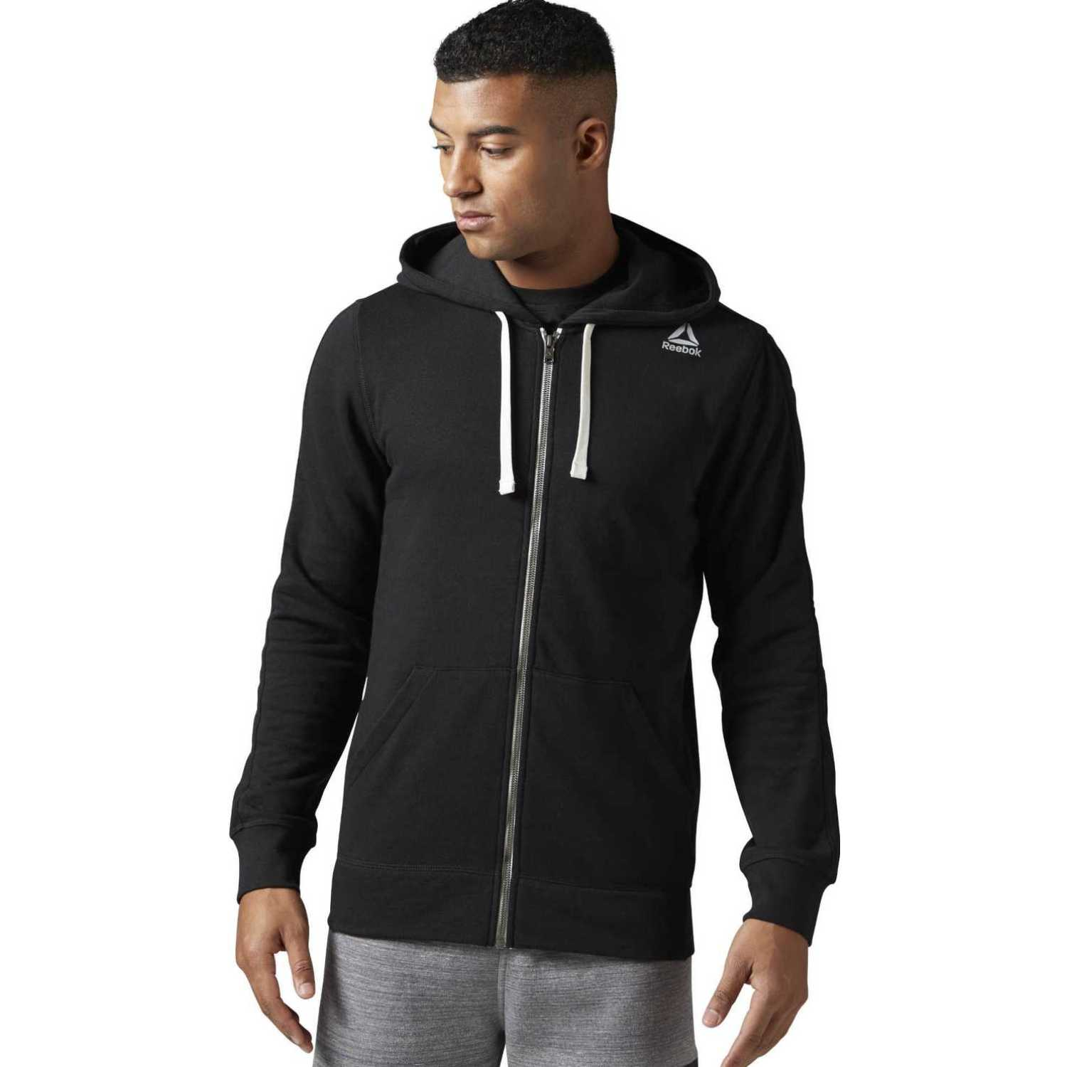 Reebok te ft fz hoodie Negro Hoodies y Sweaters Fashion