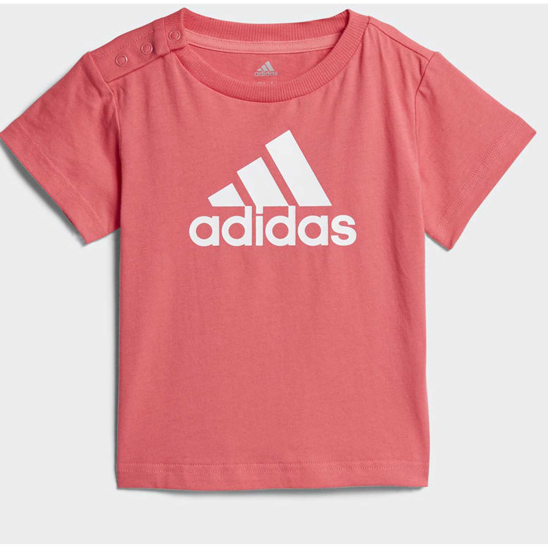 Adidas i fav tee Rosado Polos