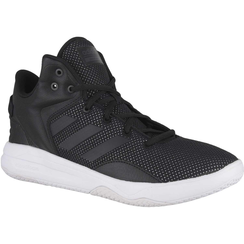 Zapatilla de Hombre adidas NEO Negro / blanco cf revival mid