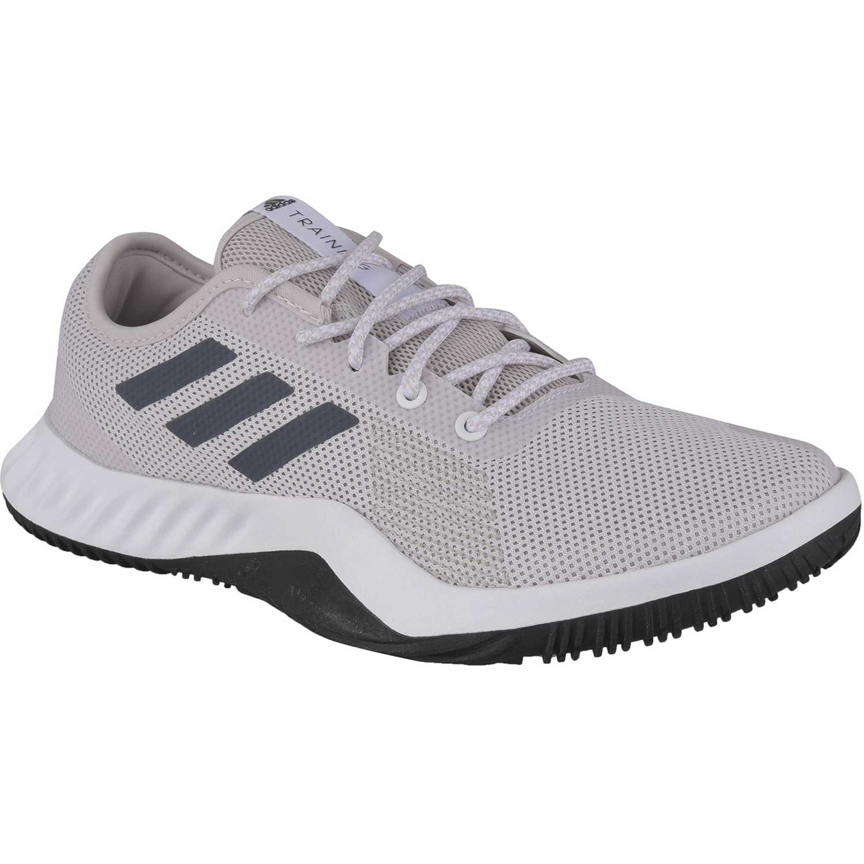 Adidas crazytrain lt m Gris / blanco Hombres