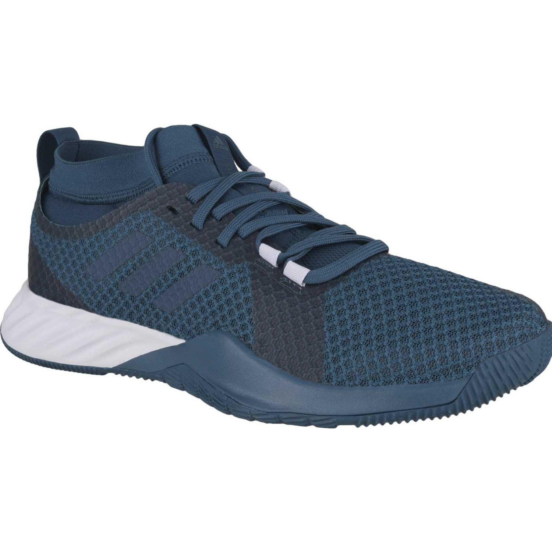 Adidas crazytrain pro 3.0 m Gris / azul Hombres