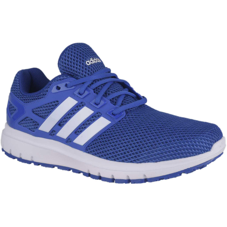 adidas NEO energy cloud m Azul / blanco Running en pista