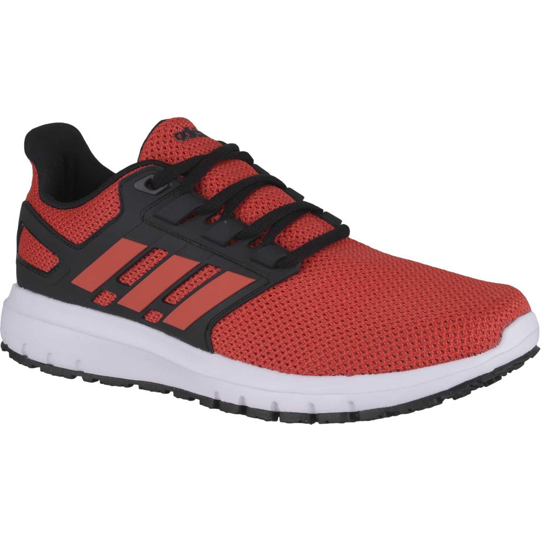 adidas NEO energy cloud 2 m Rojo / negro Running en pista
