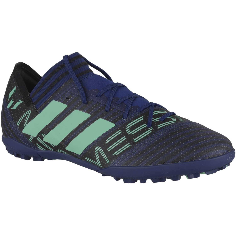 Zapatilla de Hombre Adidas Azul / verde nemeziz messi tango 17.3 tf