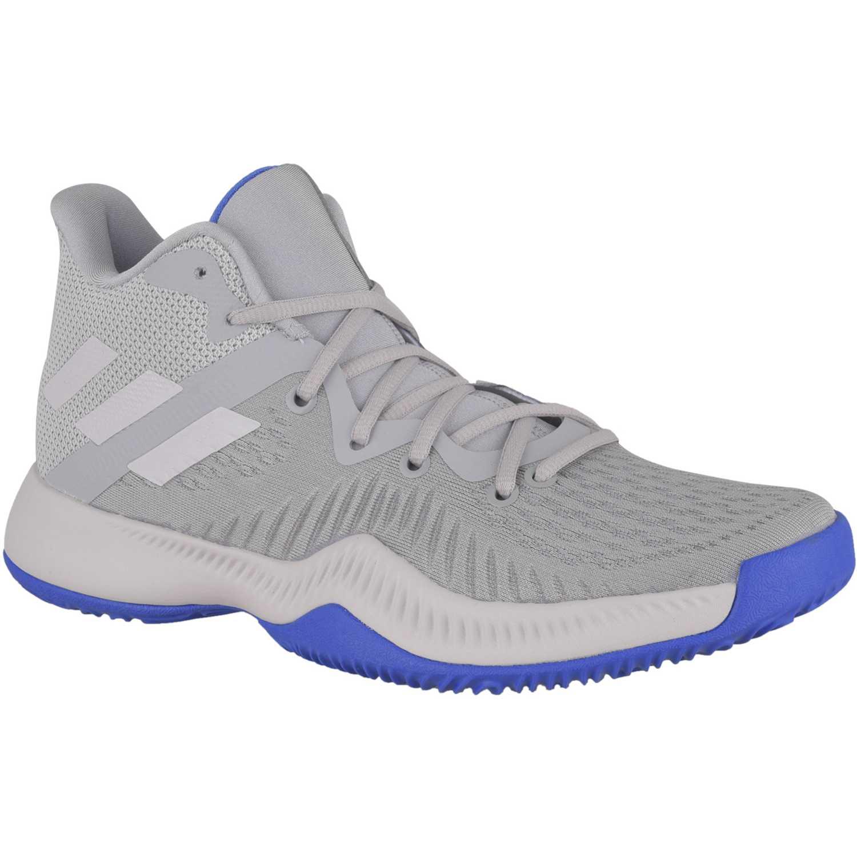 Basquet de Hombre Adidas Gris / azulino mad bounce