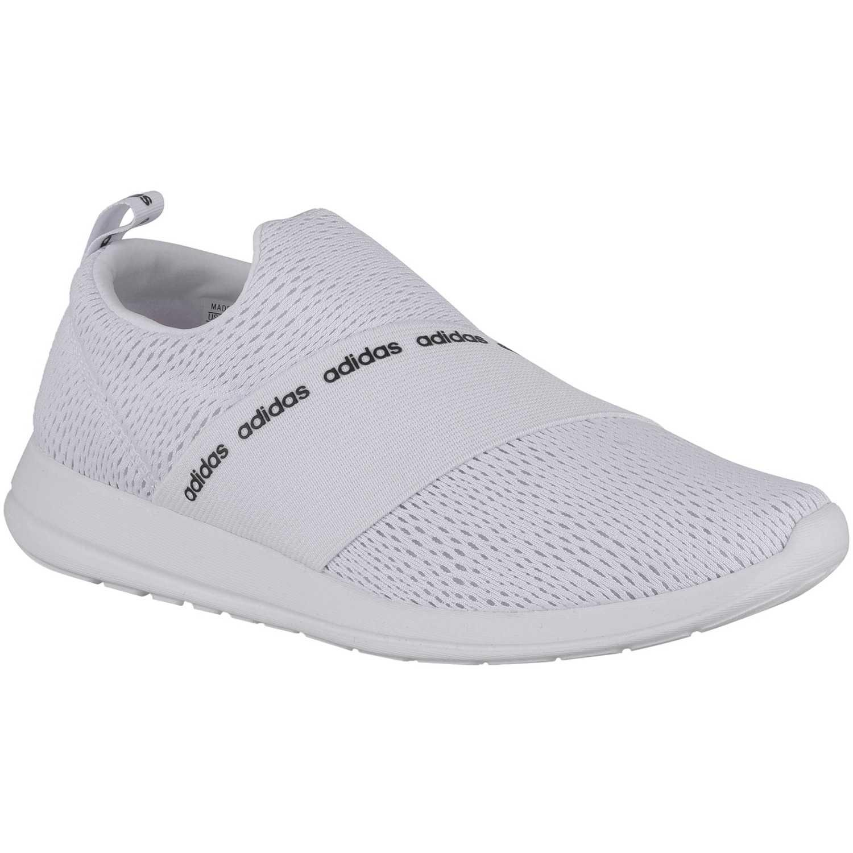 adidas NEO refine adapt Blanco / gris Running en pista