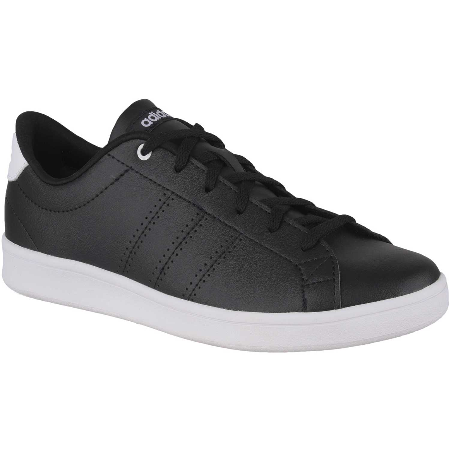 adidas NEO advantage clean qt Negro /gris Walking ...