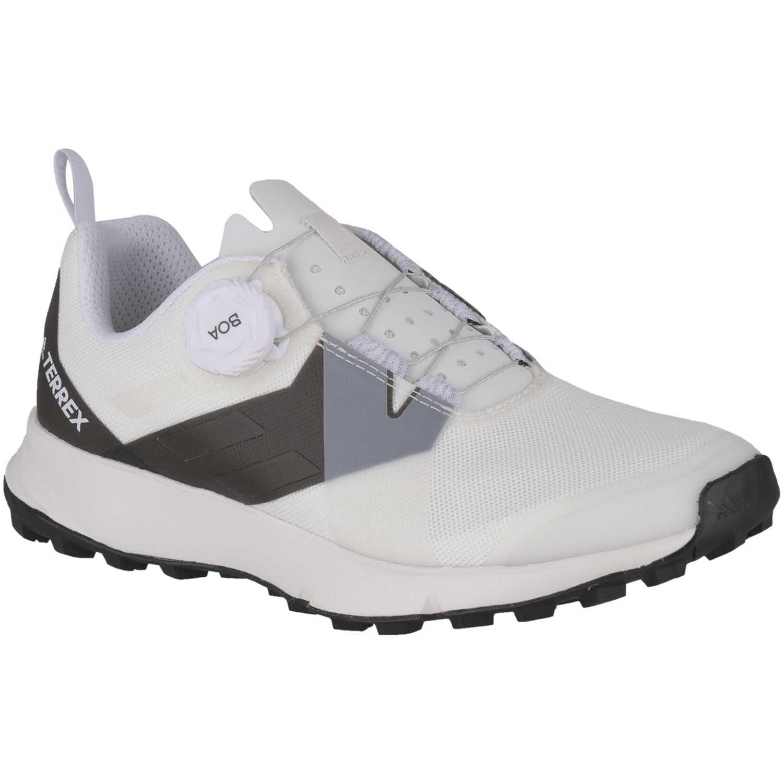 Adidas terrex two boa w Blanco / negro Running en pista ...