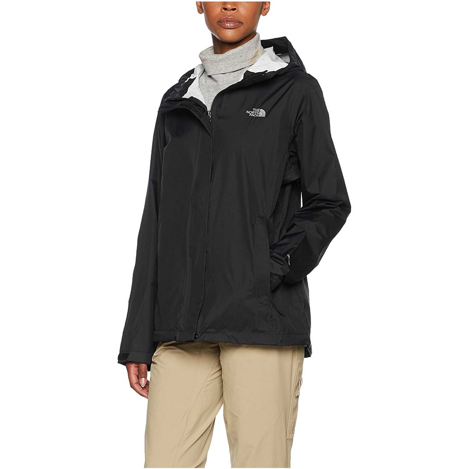 The North Face w venture 2 jacket Negro Viento y Lluvia