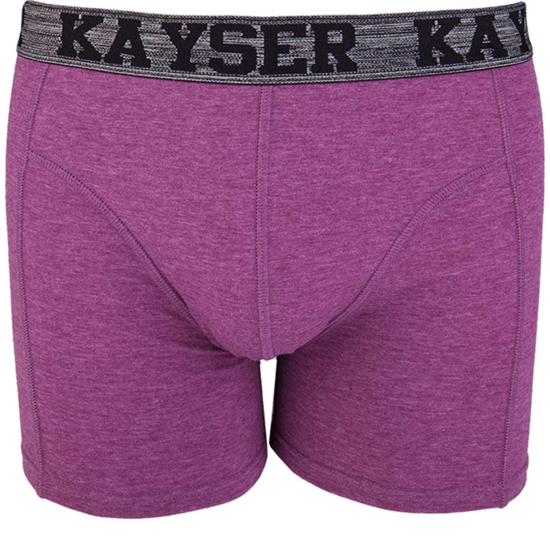 Kayser BOXER COTTON LYCRA MELANGE 93.300 BURDEO Boxers