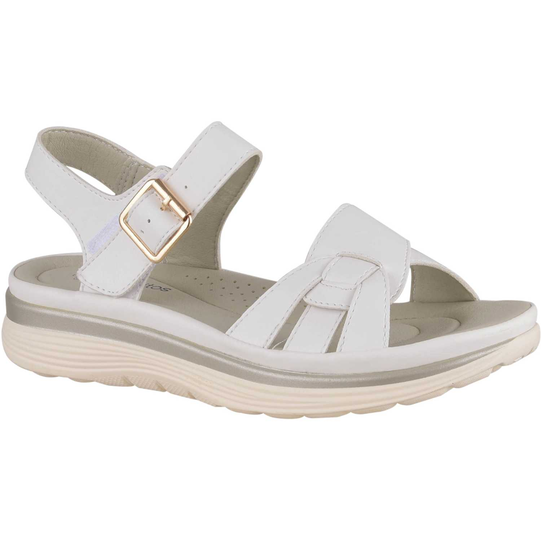 Sandalia de Mujer Platanitos Blanco sct 7723