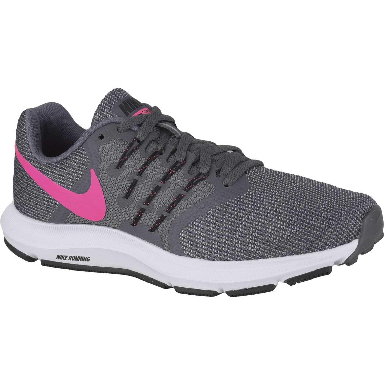 Nike WMNS RUN SWIFT Plomo / rosado Running en pista