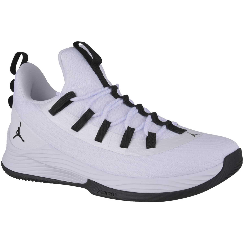 Cuña de Mujer Nike blanco / negro jordan ultra fly 2 low
