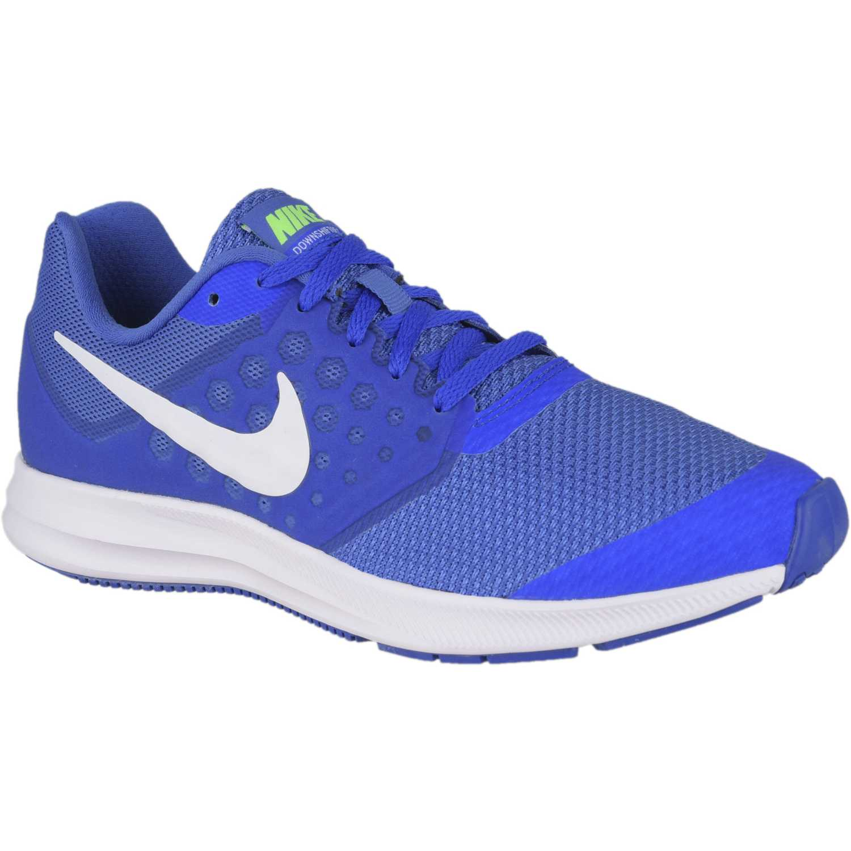 Nike DOWNSHIFTER 7 BG Azulino / blanco Walking