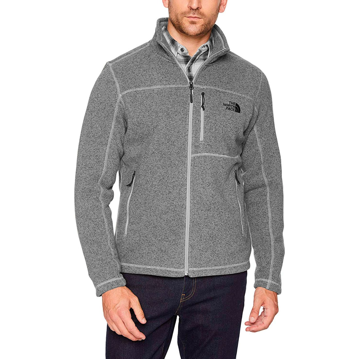 The North Face m gordon lyons full zip Gris Pullovers