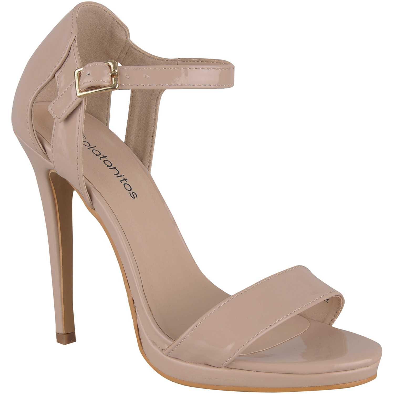 Sandalias de Mujer Platanitos Piel sv 1029