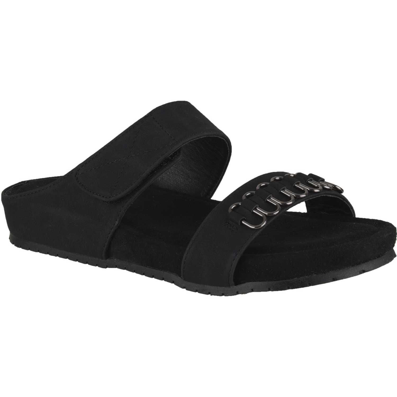 Sandalia de Mujer Platanitos Negro sct 2151