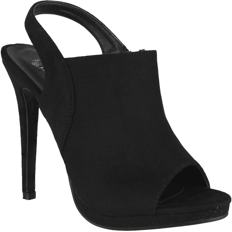 Sandalia de Mujer Platanitos Negro svp 1027