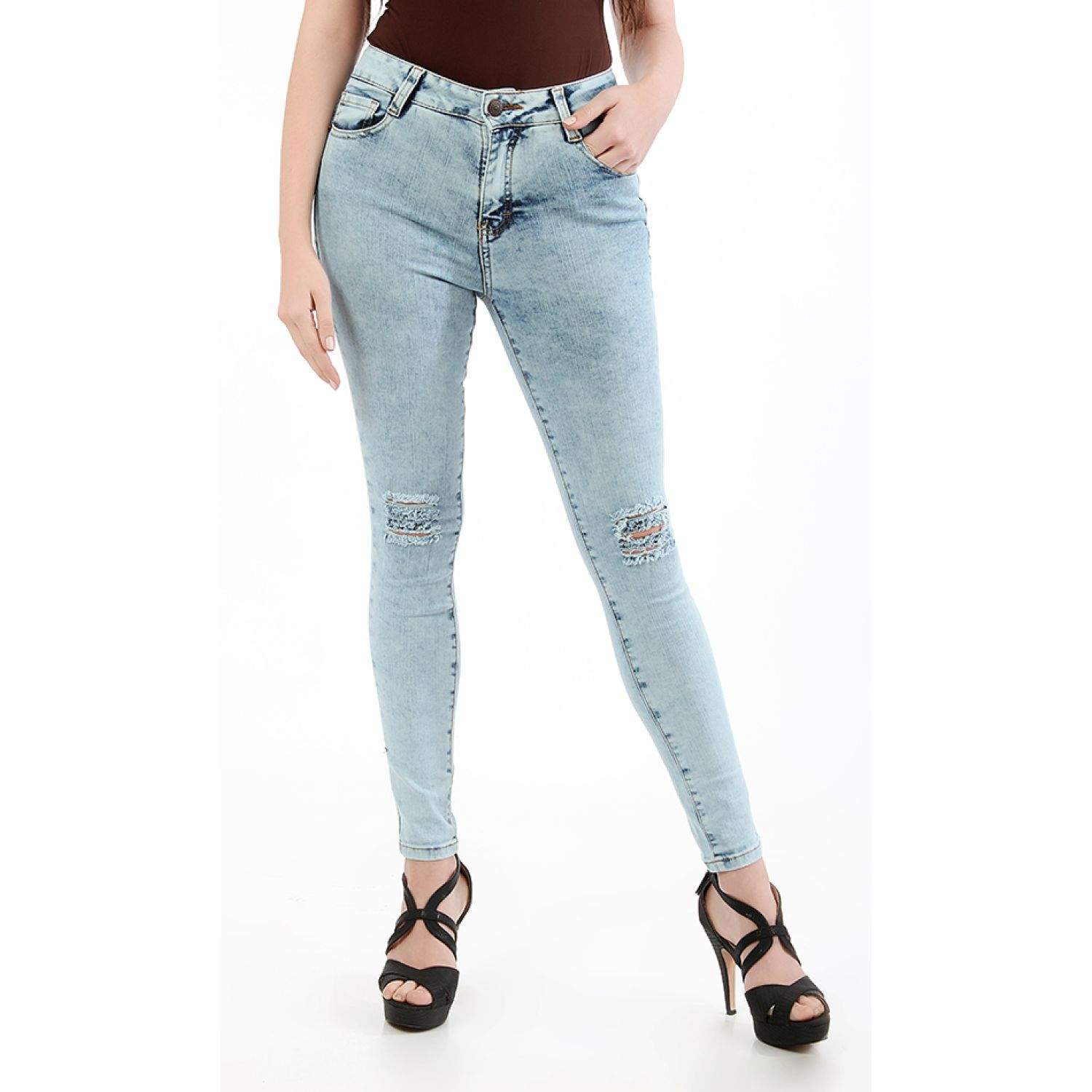 CUSTER Knee W Celeste Casual