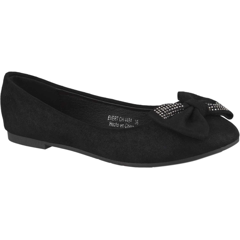 Ballerinas de Mujer Platanitos Negro ch 4484