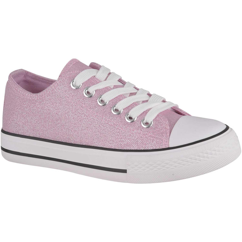 Zapatillas de Mujer Platanitos Rosado zc 20