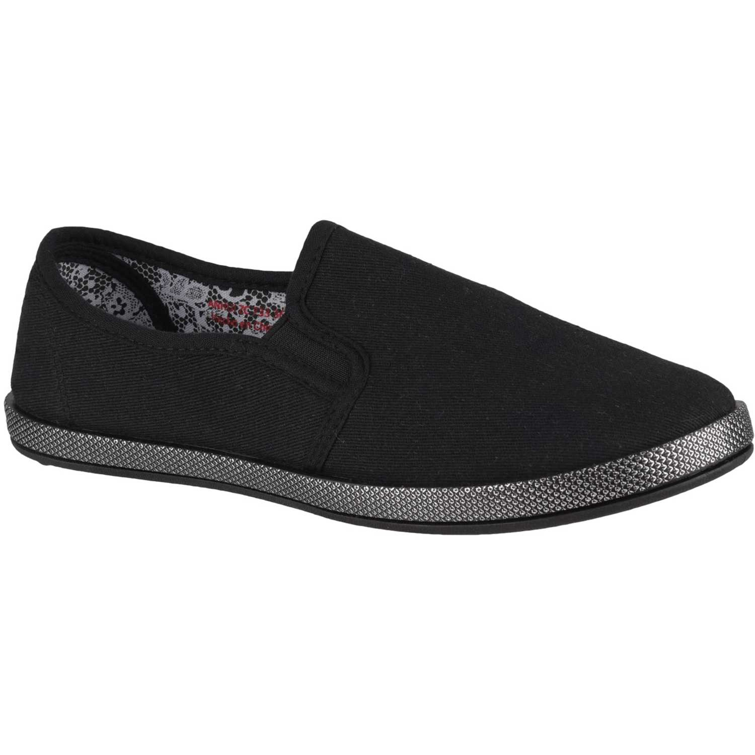 Platanitos zc 733 Negro Zapatillas Fashion