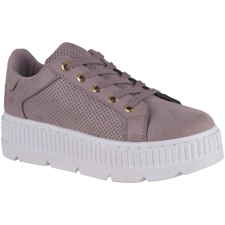 Zapatillas de Mujer Just4u Lila zc 20192