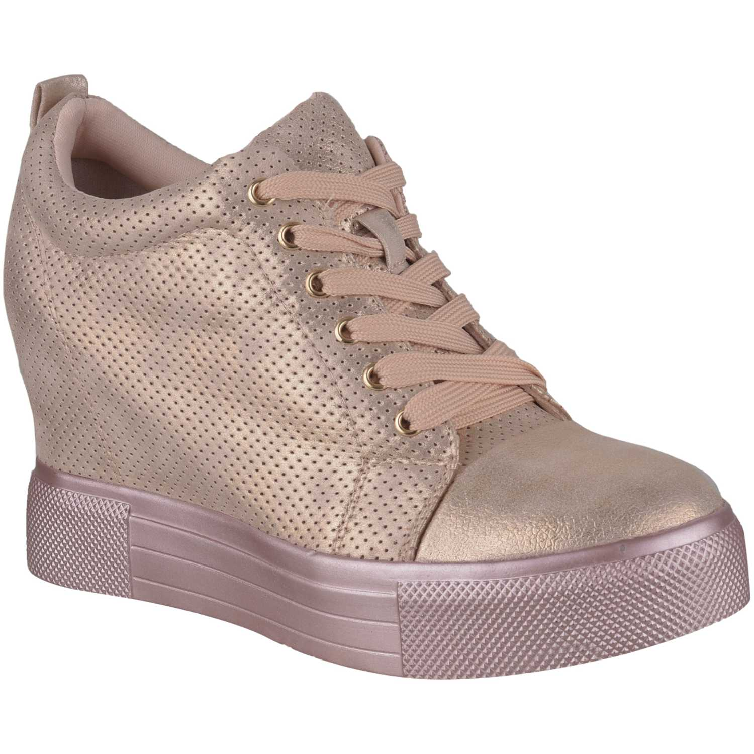 Platanitos Zw Giggle03 Rose gold Zapatillas Fashion