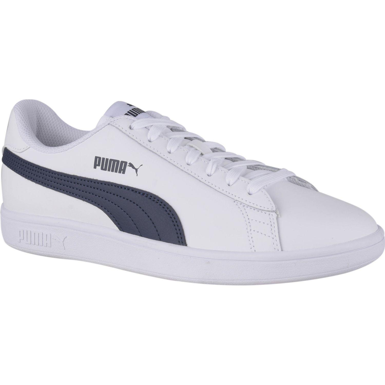 Puma Puma Smash V2 L Blanco / azul Para caminar