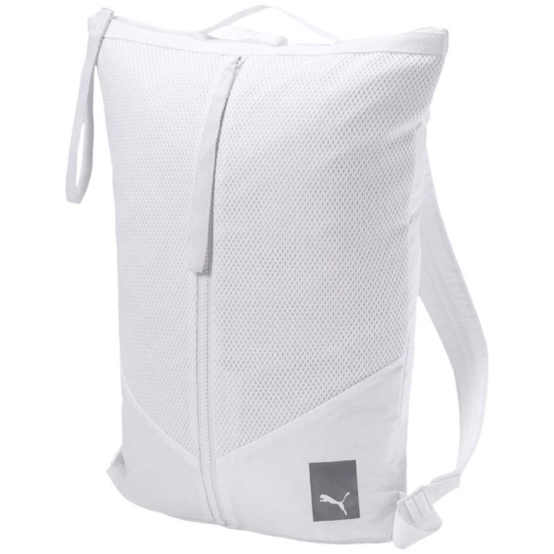 Puma prime zip backpack ep Blanco Mochilas Multipropósitos