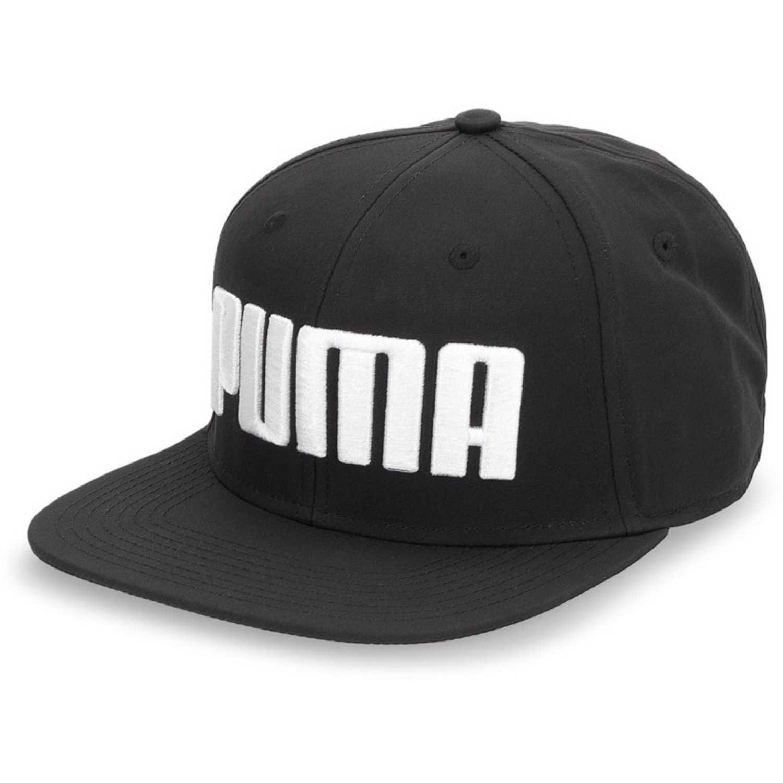 Puma puma flatbrim cap Negro / blanco Gorros de Baseball