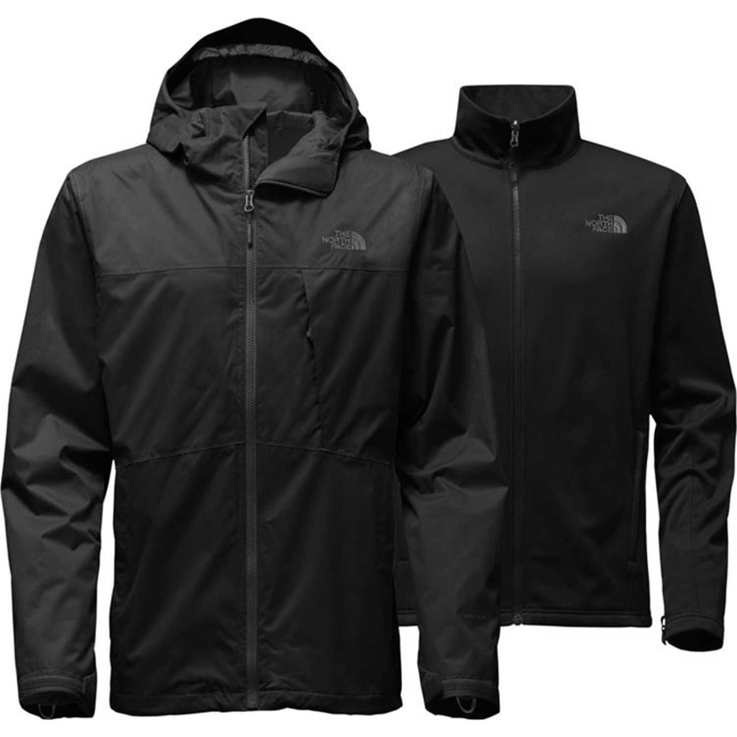 The North Face m arrowood triclimate jacket Negro / negro Impermeables y chaquetas