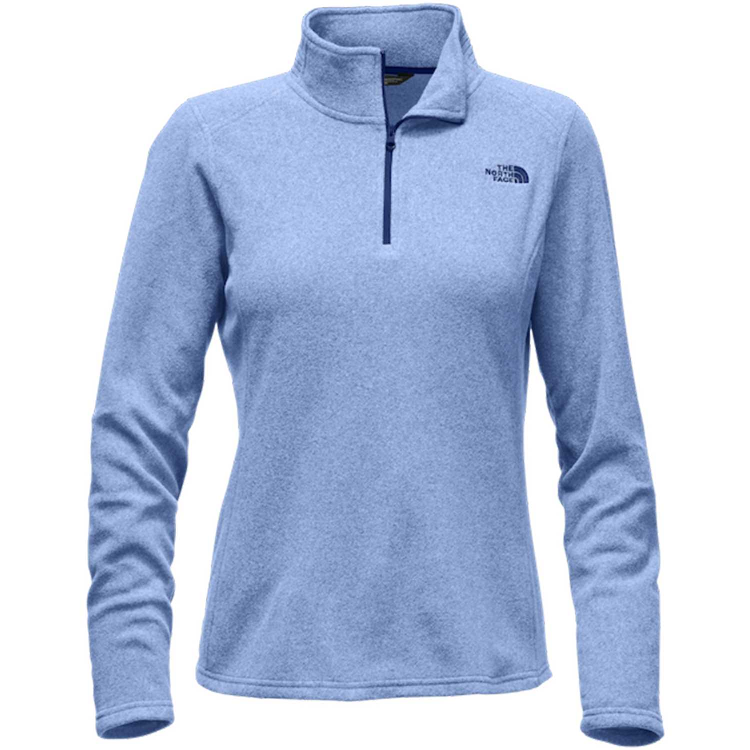 The North Face w glacier 1/4 zip Celeste Pullovers